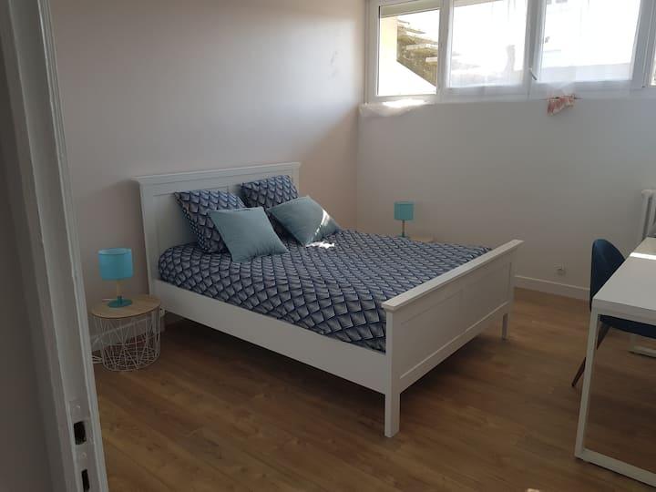 Appartement dans maison individuel