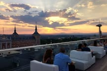 Azotea Hotel Exe Moncloa / Roof top terrace Hotel Exe Moncloa