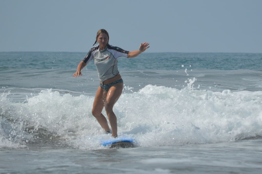 Amazing surfing and lessons available