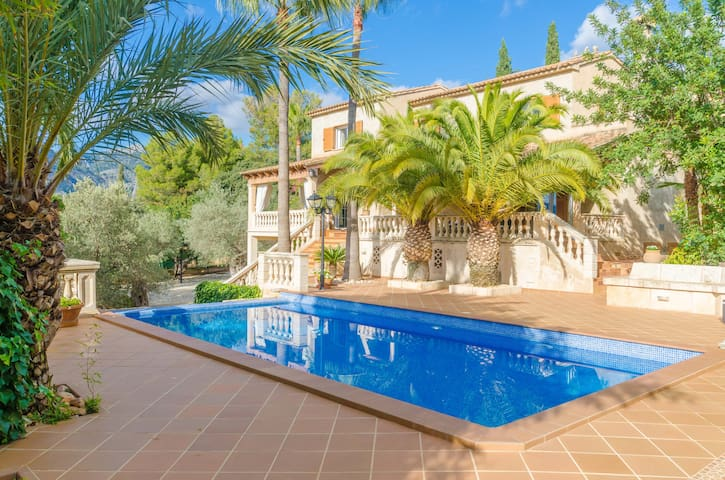CAN JORDI - Villa with private pool in BUNYOLA.