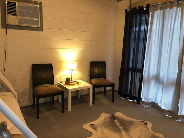 Bedroom 2 - Double/single bunk and quiet area