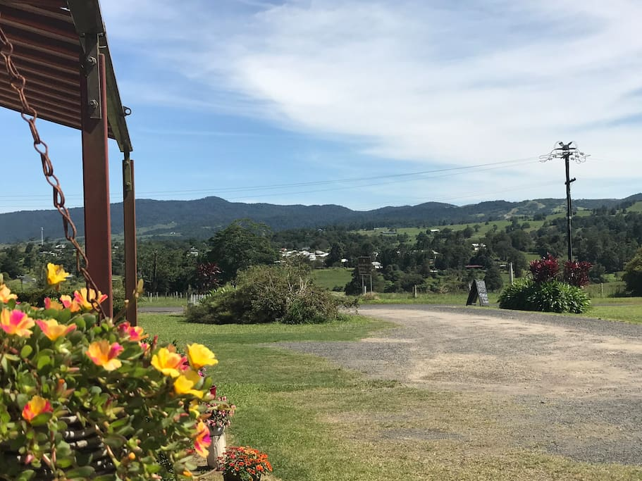 View into Millaa Millaa from the Car park