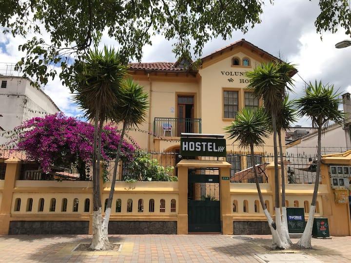 Hospedaje en plaza foch Quito