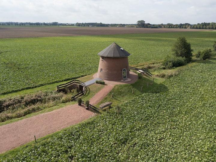Torentje van Trips, overnachten in een watertoren.