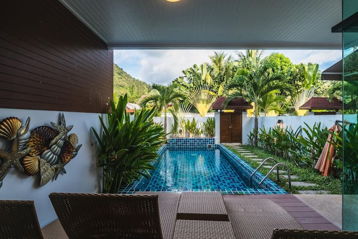 AP West 4 - Private pool in the heart of Kamala