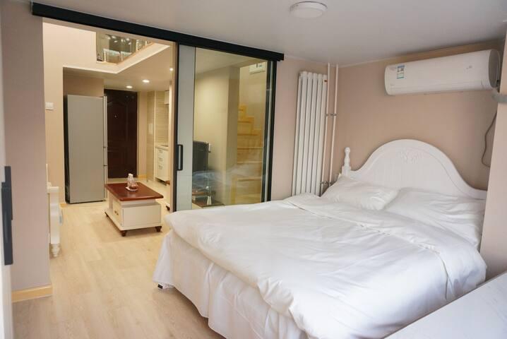 【安静小筑】2月可租长租优惠 无中介费两居室loft