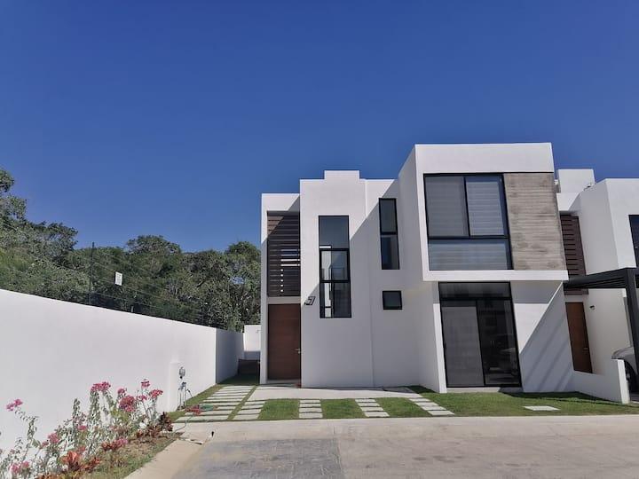 Increíble casa nueva en Nuevo Vallarta