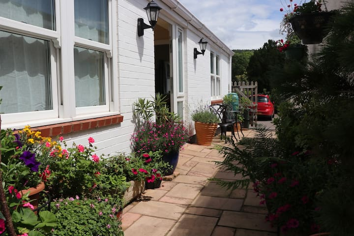 Well-equipped Apartment + parking, close to beach - Sidmouth - Daire