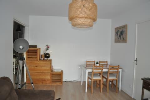 Appartement lumineux et cocooning