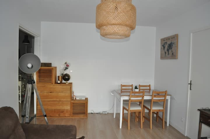Appartement lumineux et cocooning