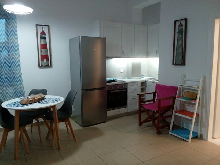 Vourkari Studio 2 with kitchen