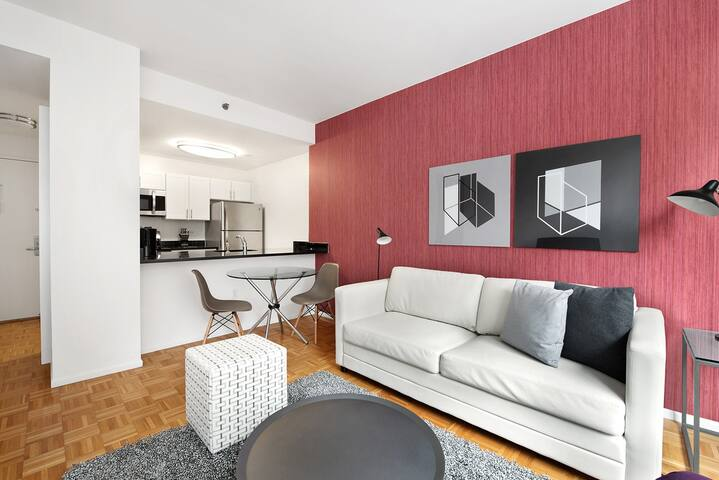 Luxury One Bedroom Apartment in Downtown Brooklyn