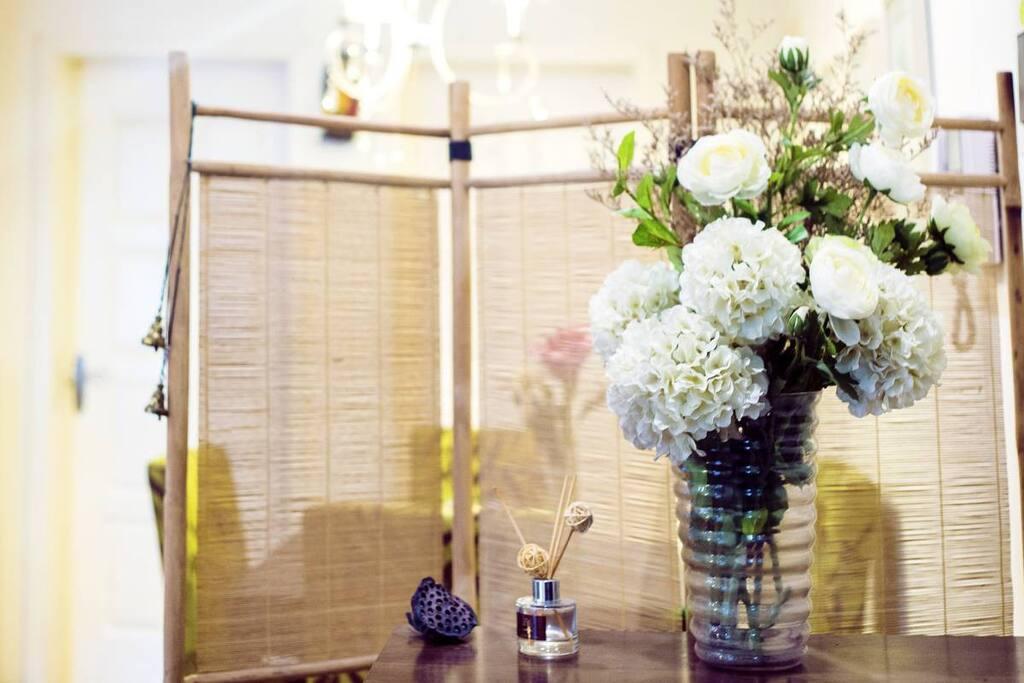 花团锦簇的玄关