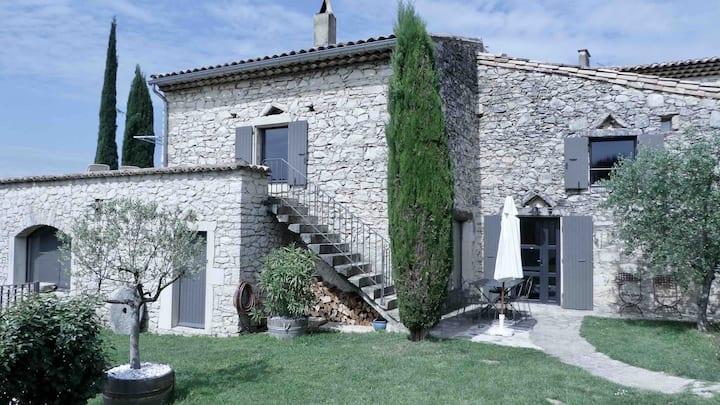 Maison de charme, Drôme provençale