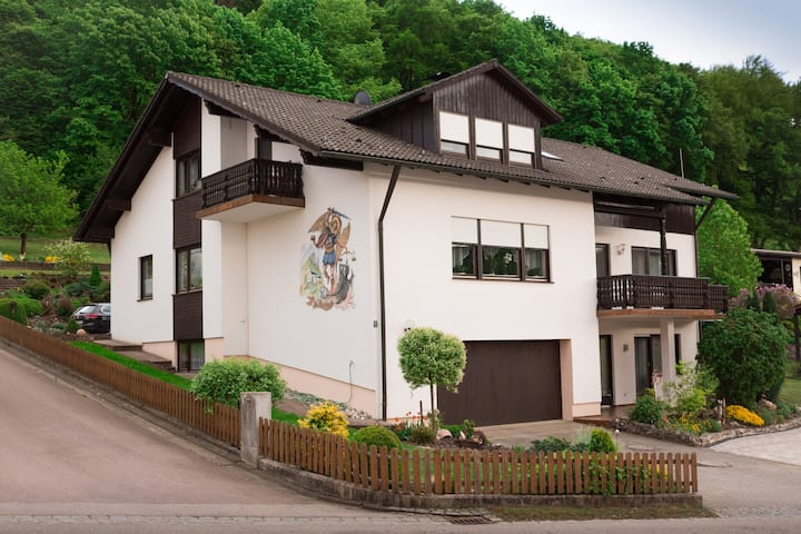 60 m² Ferienwohunung im Naturpark Altmühltal