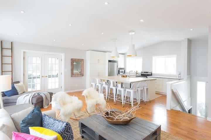 Wilolea Retreat, luxury waterfront home