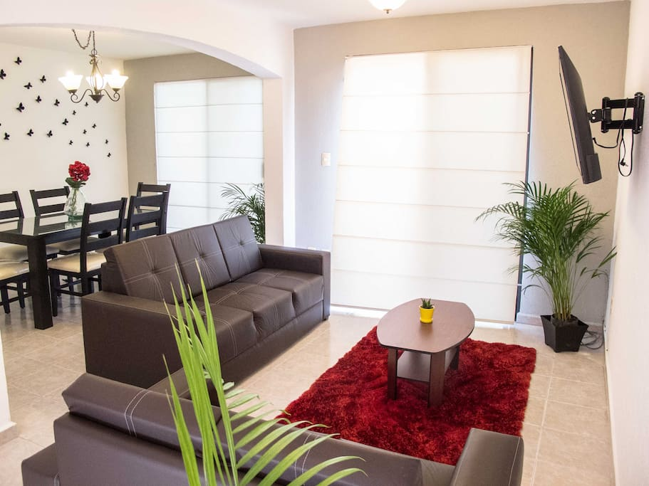 Spacious Living Area.