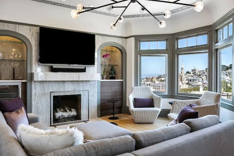 Russian Hill Penthouse