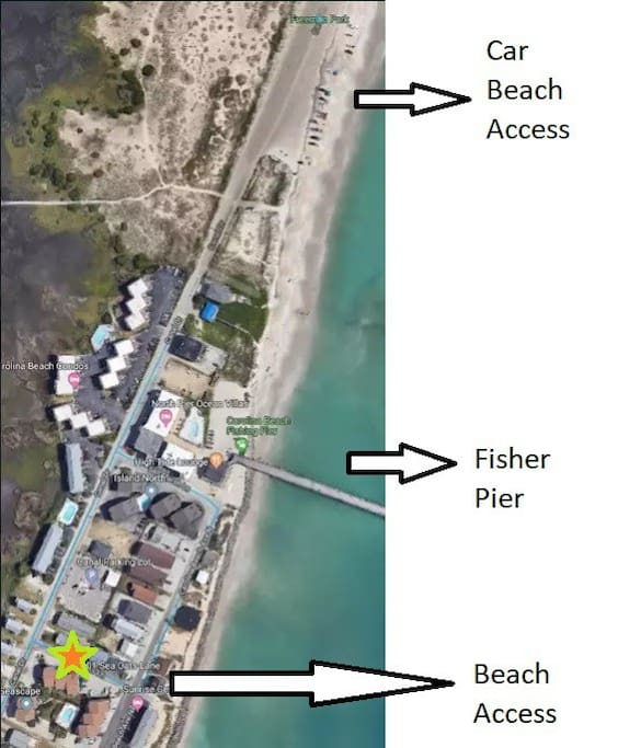 Fisher Pier and Car Beach Access