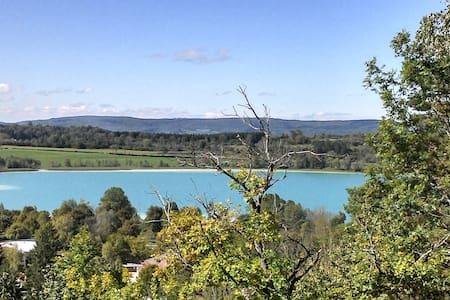 """""""l'Inattendue des lacs"""" (vue/lacs) - Clairvaux-les-Lacs"""