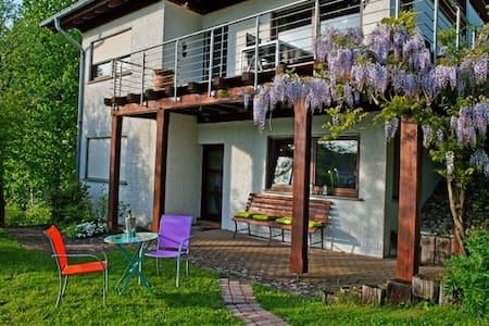 """Ferienwohnung """"Zum Kaffeehiwwel"""" - Breitenbach - Apartment"""