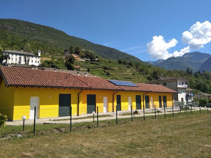 Casa vacanze Le Casette con garage e area verde