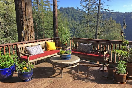 Stay With Redwoods - Woodside - Casa