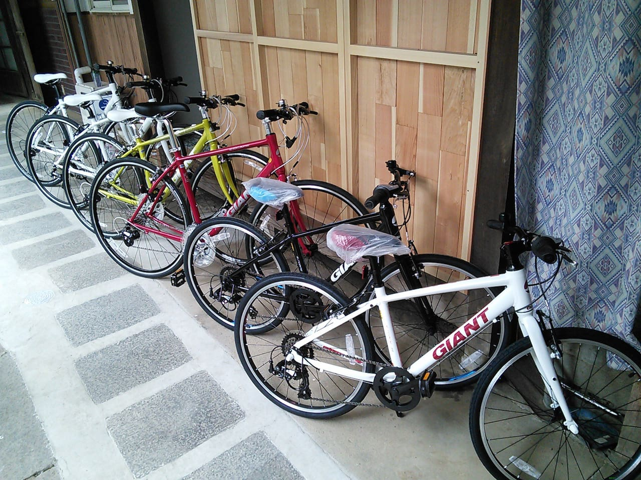 Rental cycle (included in the charge)