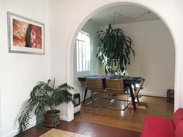 A bohemian flat in the Center of Mexico City.