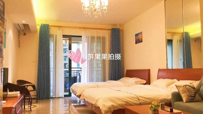 阳江市海陵岛十里银滩果果海边的家度假公寓高层海景房