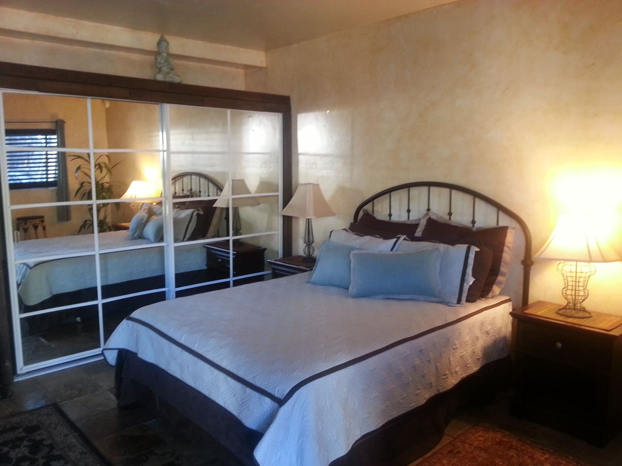 Bed Space and Large Closet