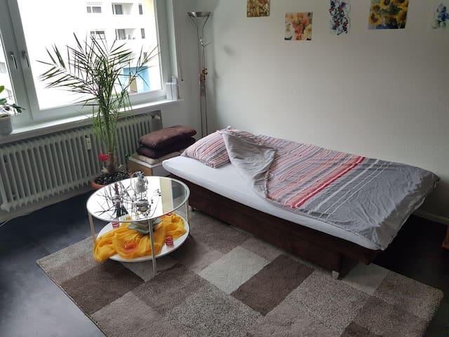 1 gemütliches Zimmer im Zentrum von Müllheim