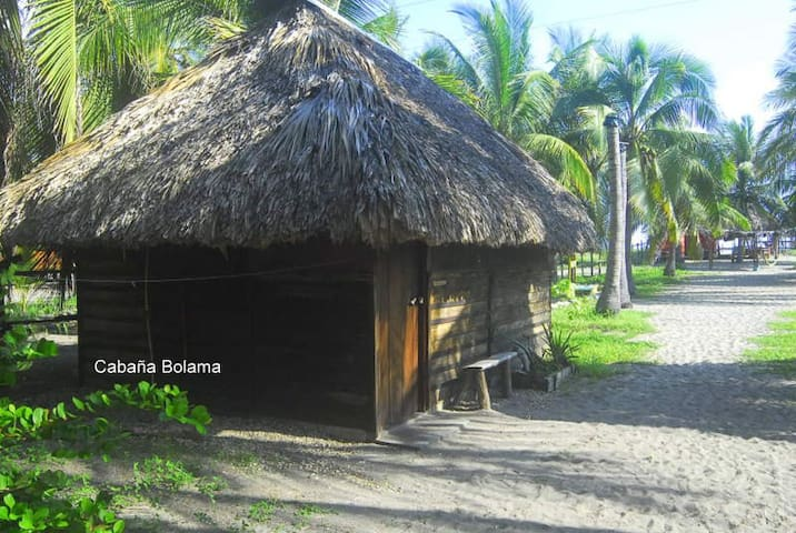 Cabaña para 2 con wc privado Boca del Cielo