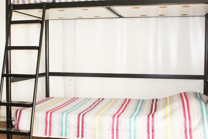 Room with Bunk Bed - Alto de Pinheiros
