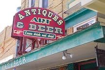 Antiques, Art & Beer