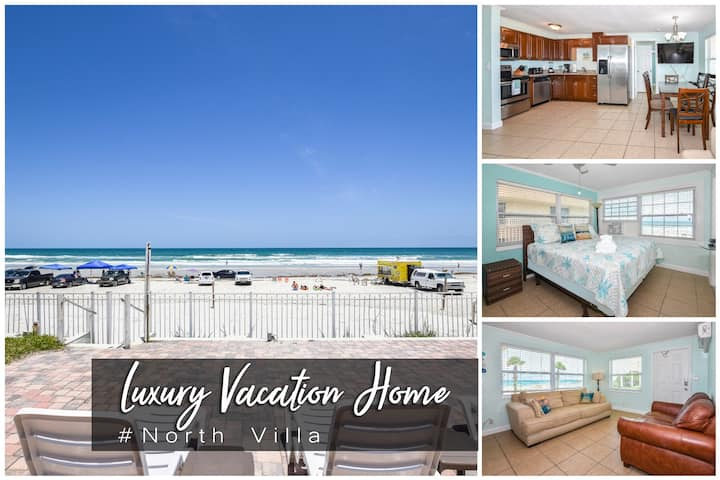 Luxury Oceanfront Home #NorthVilla - 4BR/2BA