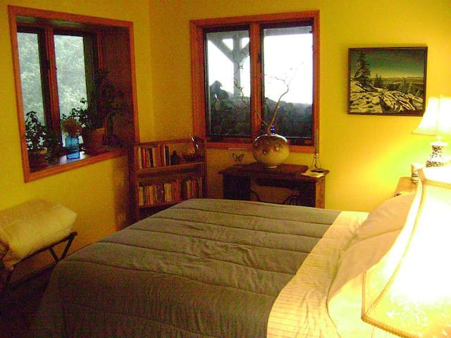Yellow Room at Blue Horizon Bed and Breakfast - Claryville