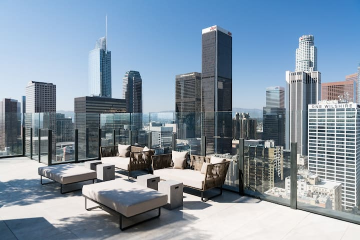 Luxurious Downtown L.A. Resort Style Apartment