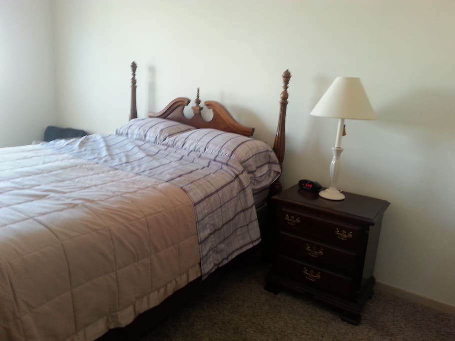 BR 2 with private bath. New queen pillow top mattress