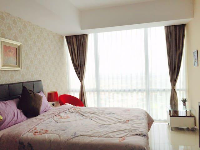 Cozy Apartment at U Residence Supermall Karawaci
