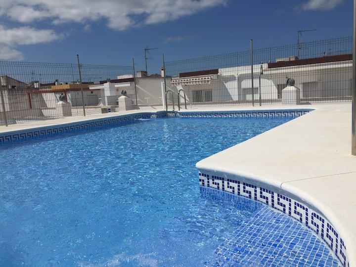 Punta Umbría Playa. GARAJE y CLIMATIZADO!!!WiFi
