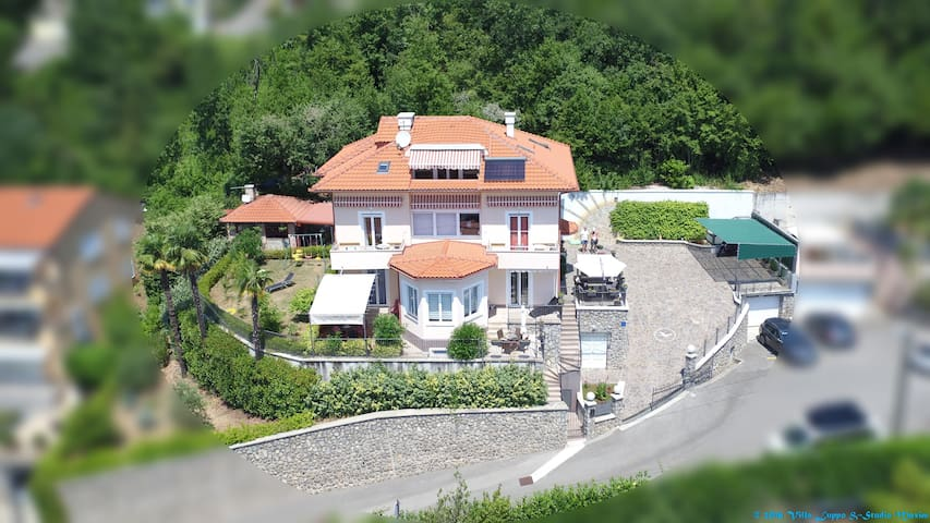 VILLA LUPPO - TINKA - sunny and family-friendly - Ičići - Daire
