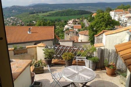 maison de village calme - La Roche-Blanche - Haus