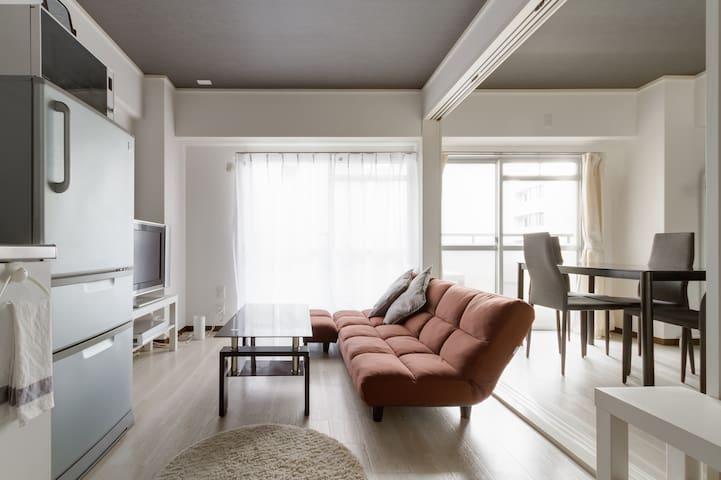 Namba8minsCentralOsakaCastleWIFI 6 - 大阪市中央区 - Appartement