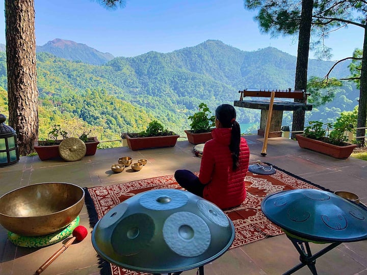 An exclusive sound healing retreat @ HEAL FARM
