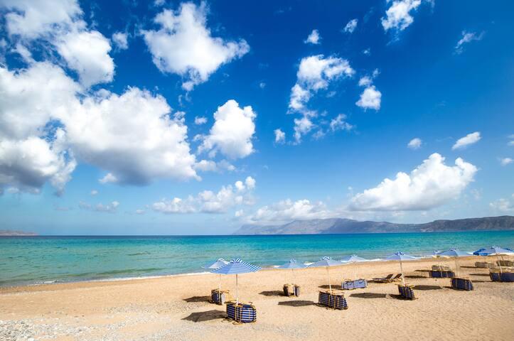 Tranquil Beach rooms in Kissamos - Kissamos - Apartament