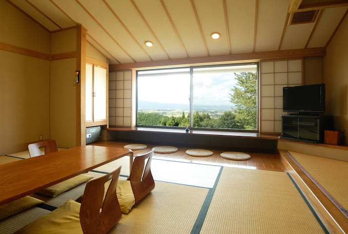 Relax at Ryokan & baths of superb view ! Japnese-style room