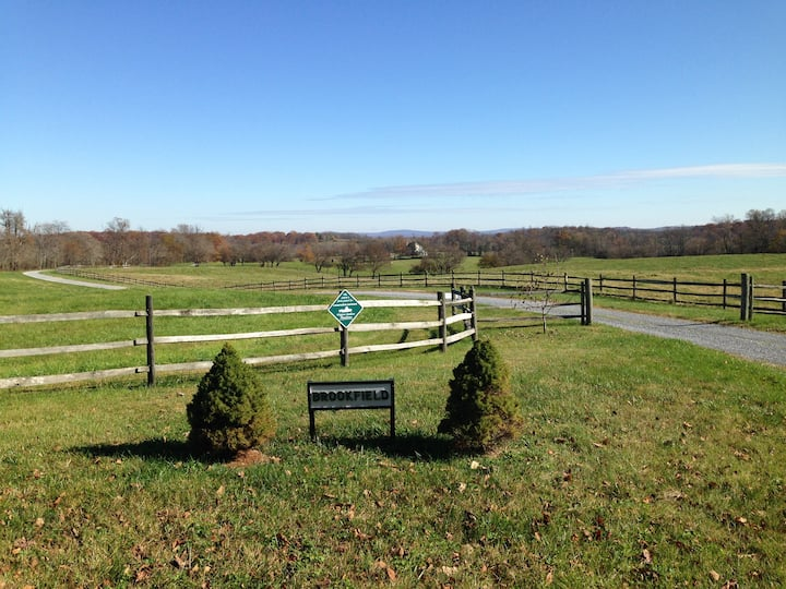 Horse Estate - Near Middleburg and Upperville