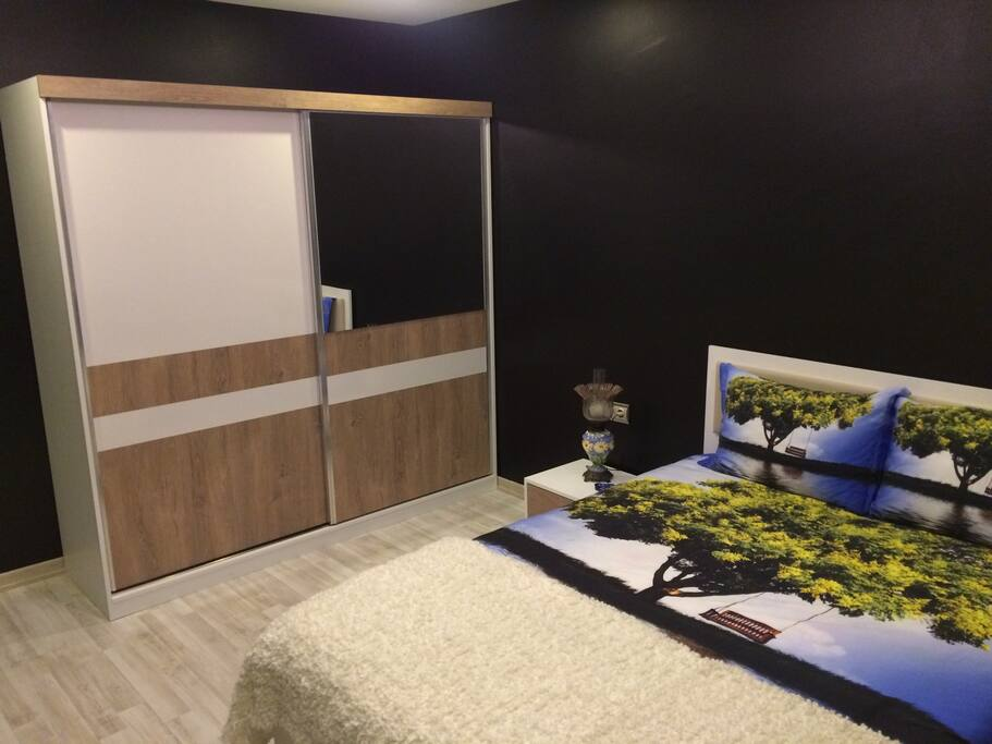 Guest room-1 / private balcony and bathroom / double-bed