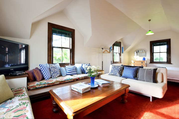 Loft-style guesthouse just minutes from the city!